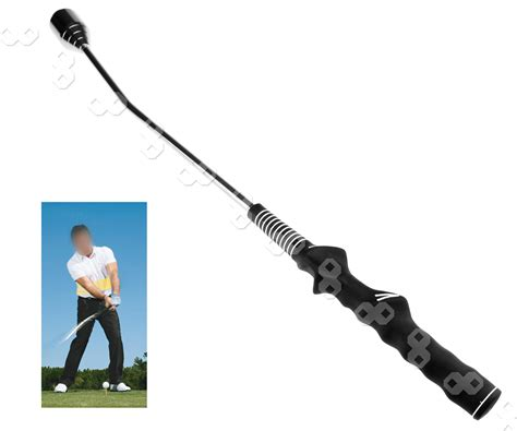 swing perfect golf training aid promotion warm up training aid practice club indoor golf