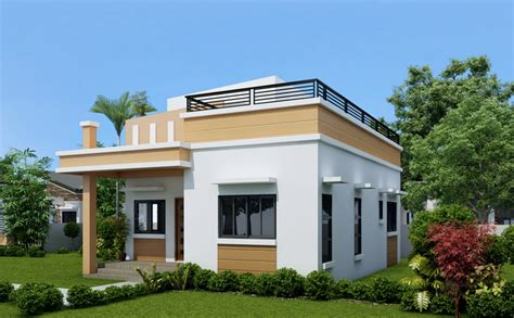 House Design Ideas With Rooftop One Storey House With Roof Deck Living Rooms Gallery