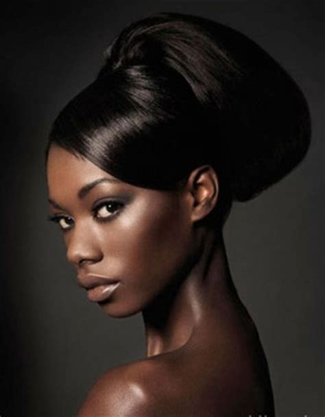 afro american updo hairstyles wedding updo style for african american women wedding