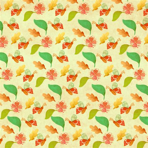 adobe illustrator leaf pattern download butterfly and leaf pattern free vector in adobe