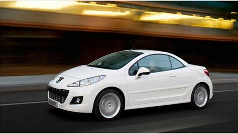 peugeot two door car peugeot 207 cc 1 6 vti 16v 120 hp automatic