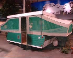 Vintage coleman tent trailer tent idea