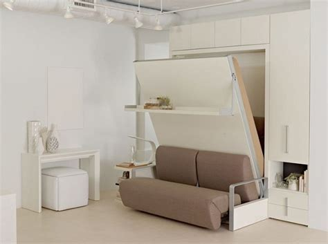 space bedroom furniture white sofa wall bed furniture for space saving bedroom