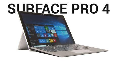 Laptop Microsoft Surface Pro 4 test microsoft surface pro 4 peut remplacer un pc