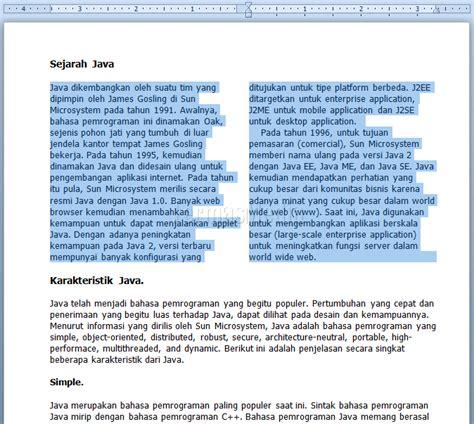 membuat opini di koran membuat kolom koran newspaper columns di microsoft word