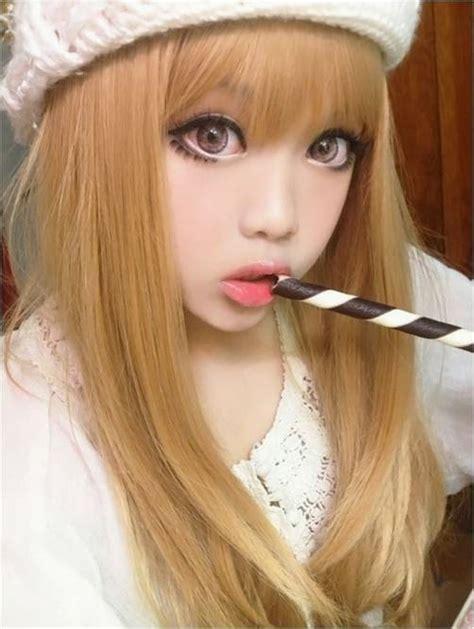 Softlens Kawaii Cara Soft Lens Kitti Kawai Cara Thailand korean big eye circle lenses korean skin care makeup more in www uniqso get kawaii