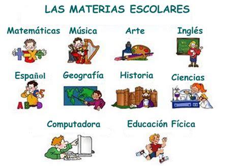 imagenes materias escolares las clases thinglink