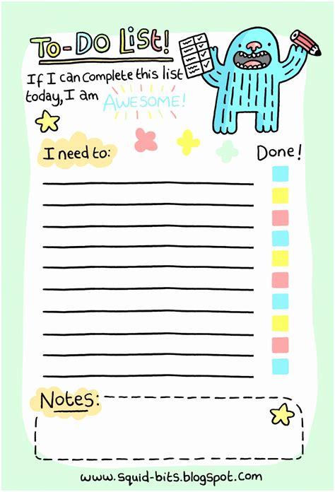 10 word to do list templates printable to do lists
