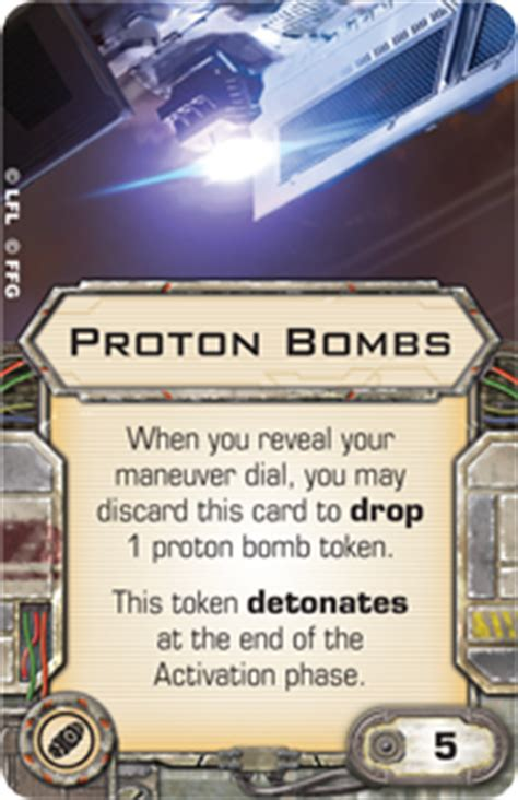 Proton Bomb by Proton Bombs X Wing Miniatures Wiki Fandom Powered By