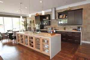 Show Kitchen Designs Contemporary Kitchen Showcases New Home Personalization