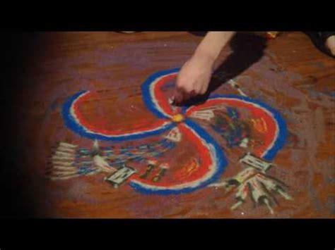 Sand Painting navajo sand painting