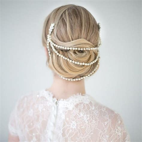 how to wrap wedding hair wedding hair accessory pearl hair wrap bridal comb new