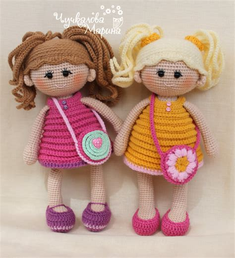 you doll design etsy crochet doll pattern quot pumposhka quot pdf