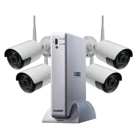 indoor security system lorex 4 channel 1080p high definition 1tb hdd surveillance