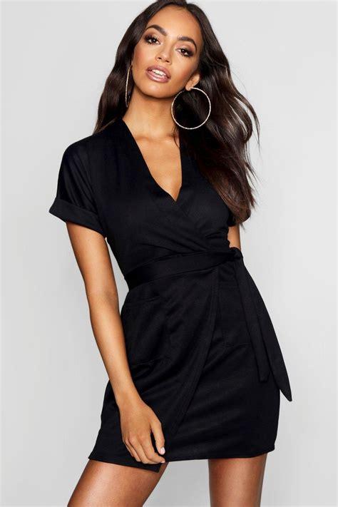 Wrap Dress - boohoo womens loredana obi tie wrap dress