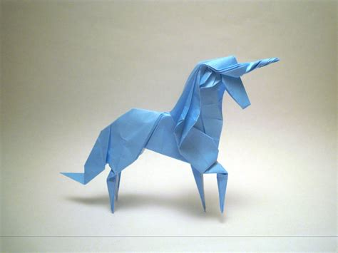 How To Make A Paper Unicorn - origami unicorn by orimin on deviantart