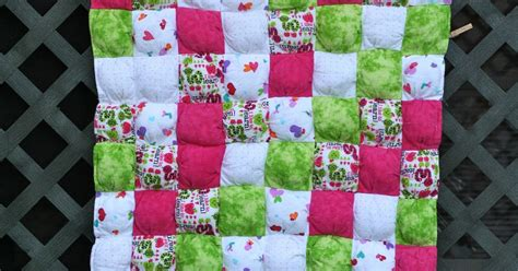 Rag Puff Quilt by Bouncing Blossom Designs Rag Puff Quilt