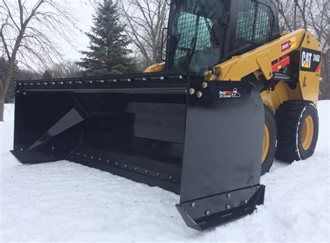 sectional snow pushers skid steer snow pusher for sale skid pro attachments