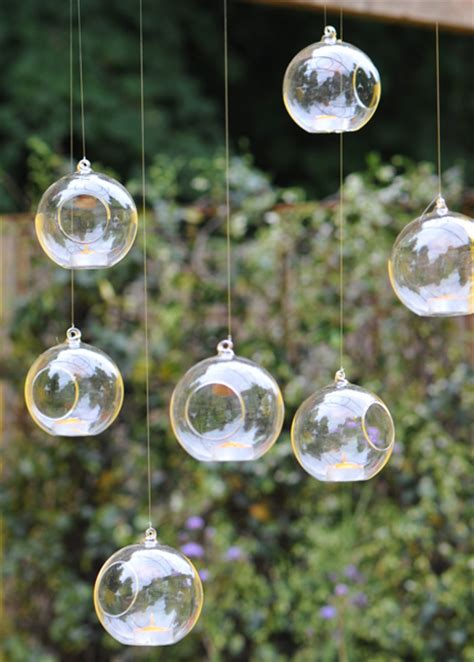Outdoor Tea Lights Buy Large Bauble Tea Light Holder Delivery By Waitrose Garden In Association With Crocus