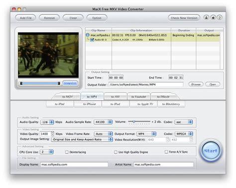 kmv format converter download macx free mkv video converter 4 2 4