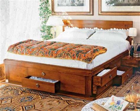 letti matrimoniali con contenitore in legno letto 14 cassetti in legno massello prestige offre un