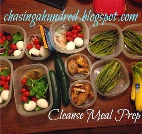 Detox Diet Recipes Philippines by Chasing A Hundred Advocare 10 Day Cleanse Meal Prep