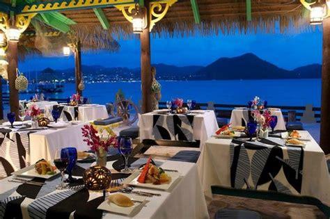sandals grande st lucia restaurants dining at sandals grande st lucian picture of sandals