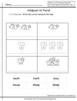 Sticker Englisch Plural by Irregular Plural Nouns Worksheet Grammar Pinterest