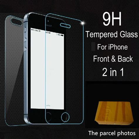 Frontback 3d Tempered Glass For Iphone 6 6s Screen Pro T1310 2pcs lot front back tempered glass for iphone 5 5s 6 6s 7 plus 4 4s screen protector