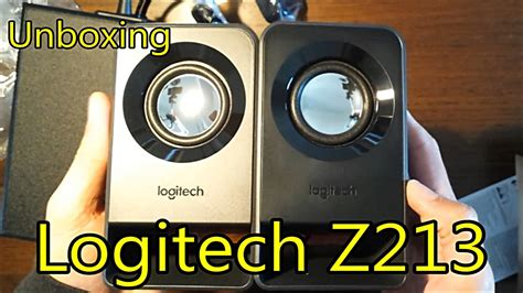 Speaker 2 1 Logitech Z213 logitech z213 multimedia speakers 2 1 unboxing