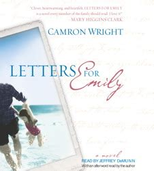 letters for emily letters for emily audiobook by camron wright jeffrey