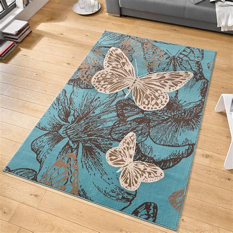 teppich schmetterling velours design teppich new butterfly kurzflor