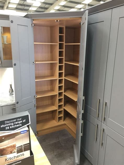 pin  carl newton  pantry pantry layout wickes