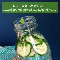 How To Start Water Detox by Detox Water Feelings New Start Smoothies