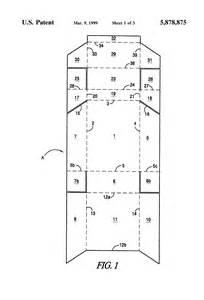 cigarette box template patent us5878875 cigarette box incorporating a match