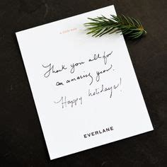 Everlane Gift Card Code - thank you for your order purchase christmas shipping insert cards by