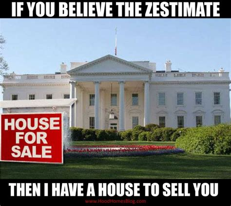 white house realty real estate humor