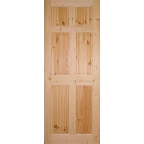 6 Panel Knotty Pine Interior Doors Wooddoor Knotty Pine 6 Panel Door Wooddoor From Leader Doors Uk