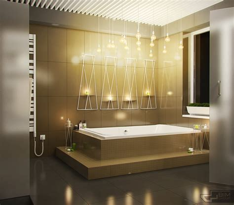 creative bathroom lighting decorating bathroom backsplash ideas showing a modern and