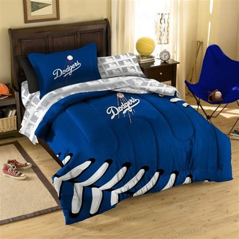 baseball bedding twin mlb los angeles dodgers twin bed in bag set modern bedding