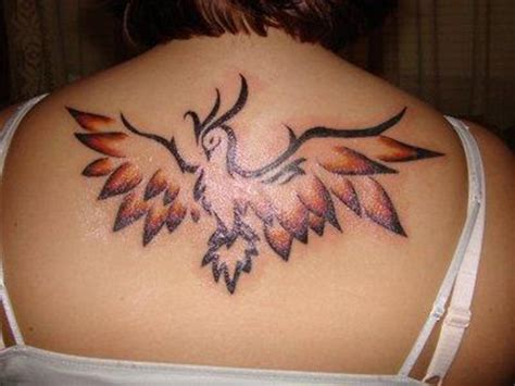 unique phoenix tattoos for girls 25
