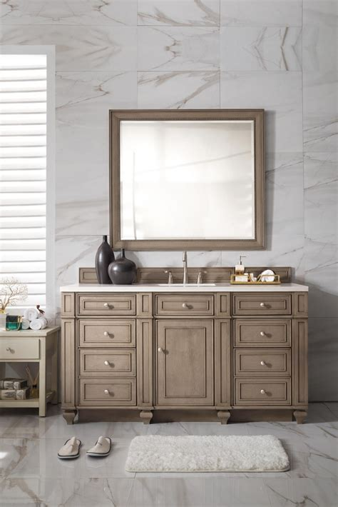60 bathroom vanity sink 60 inch antique single sink bathroom vanity whitewashed