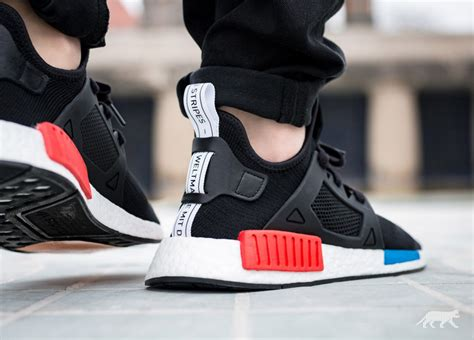 Adidas Nmd R2 Primeknit Bred White Premium Original 1 on foot look at the adidas nmd xr1 quot og quot sneakernews