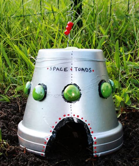 toad house diy ufo toad house petdiys com