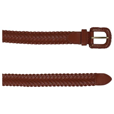 new womens plus size braid waist hip belts faux leather