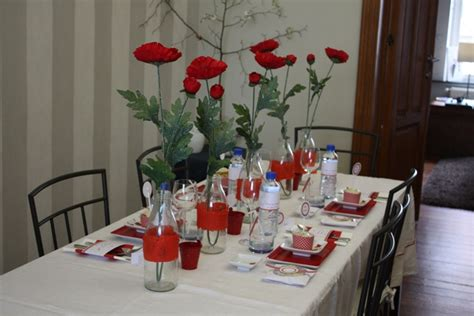 Decoration Coquelicot by Coquelicot D 233 Coration De Table Tomate Cerise