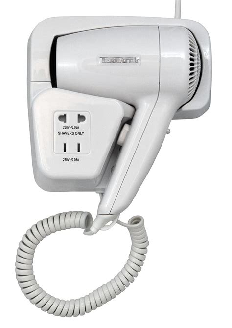 Hair Dryer Service Centre wall mounted hair dryer 950w commercial hotel leisure