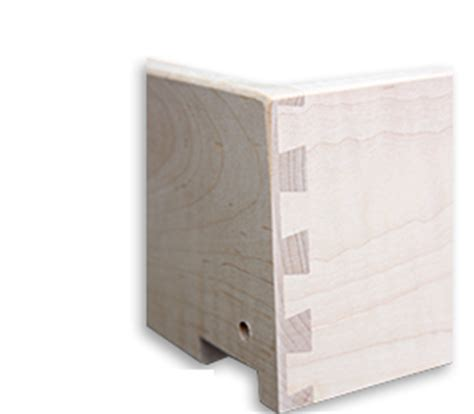 Drawer Box Joints by Dovetail Drawer Box With Runner Grooves Harris Door