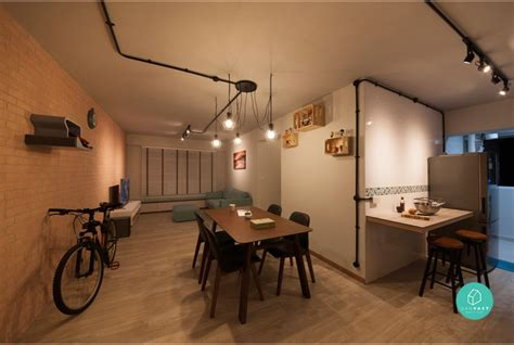 Flooring Ideas For Open Floor Plan by 6 Brilliant 4 Room Hdb Ideas For Your New Home