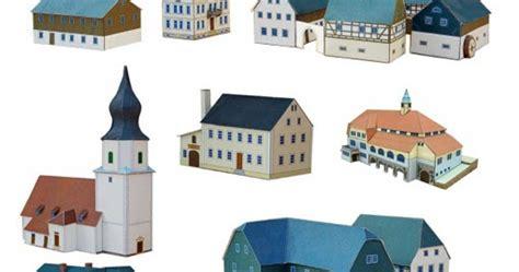 Papercraft Town - ninjatoes papercraft weblog papercraft of